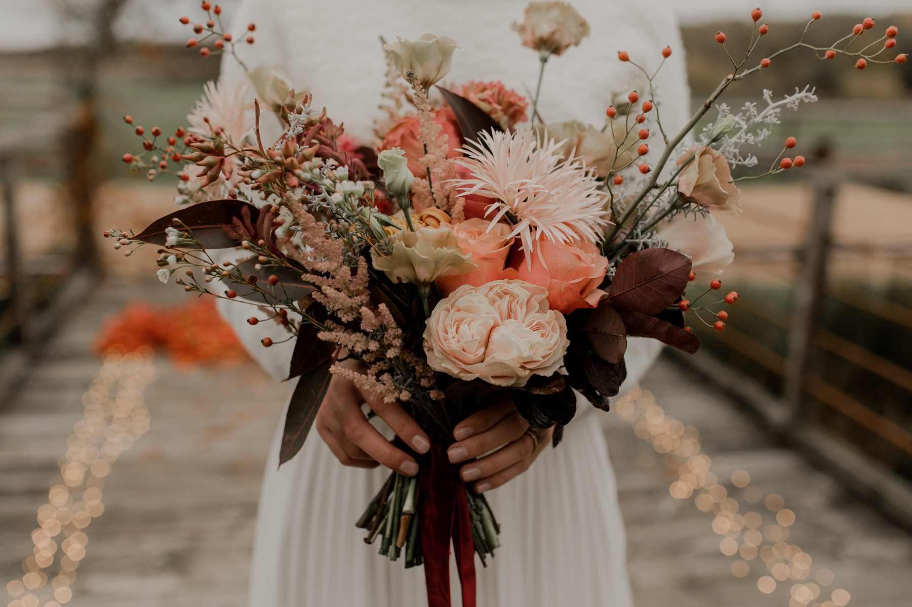 mariage couleur terracotta