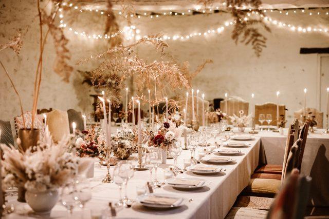 decoration salle de mariage
