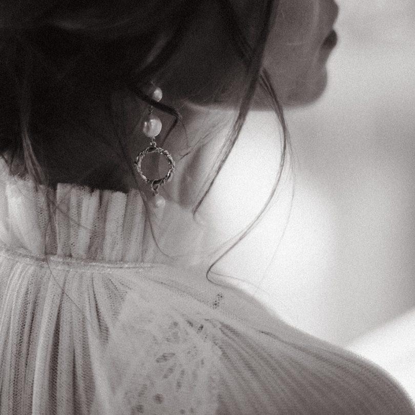 boucles d'oreille mariage
