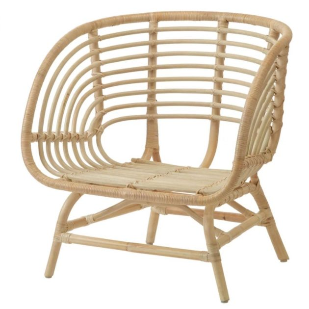 location fauteuil rotin